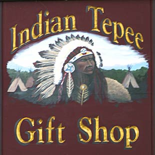 Indian Tepee Gift Shop
