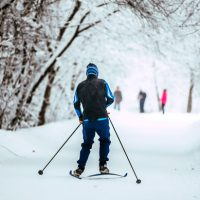 Cross Country ski trails in the Lake George Region